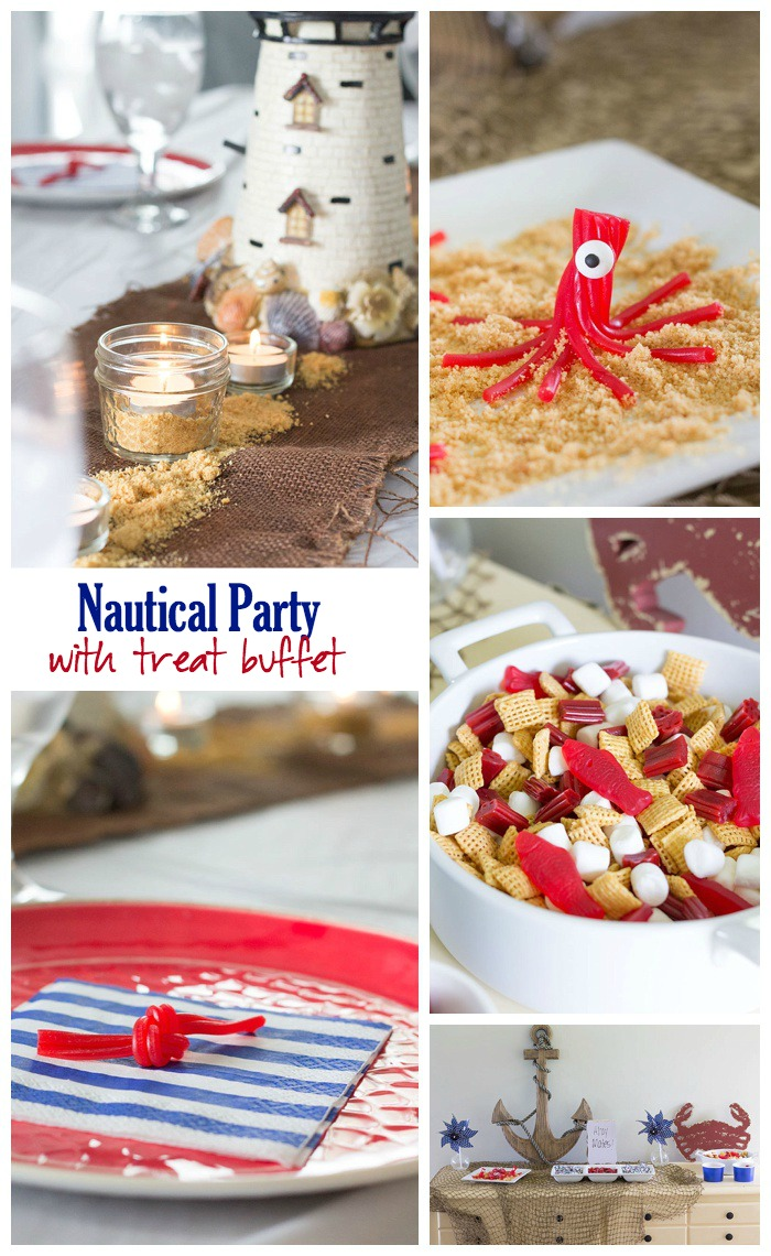 Nautical Party with Treat Buffet