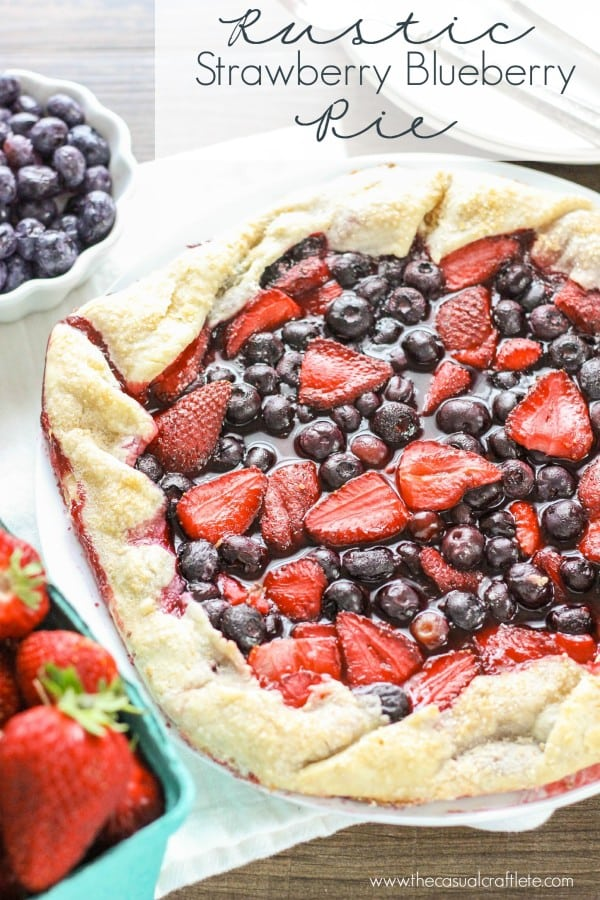 Rustic-Strawberry-Blueberry-Pie-easy-to-make-tart-with-fresh-berries ...
