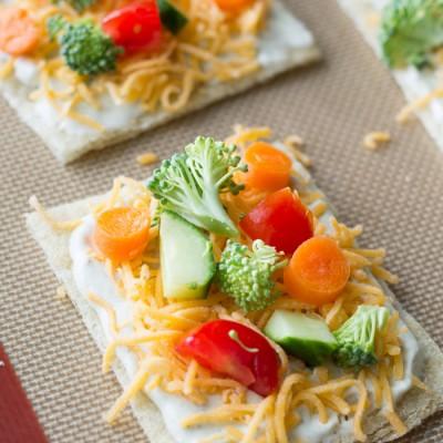 Veggie Dill Pizza
