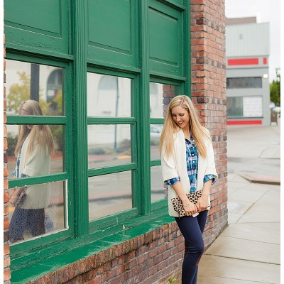 Cozy Layers and Plaid Button Downs