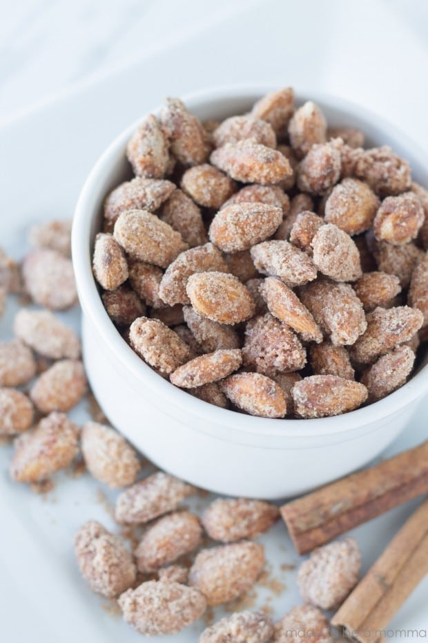 Cinnamon Sugared Almonds Made To Be A Momma