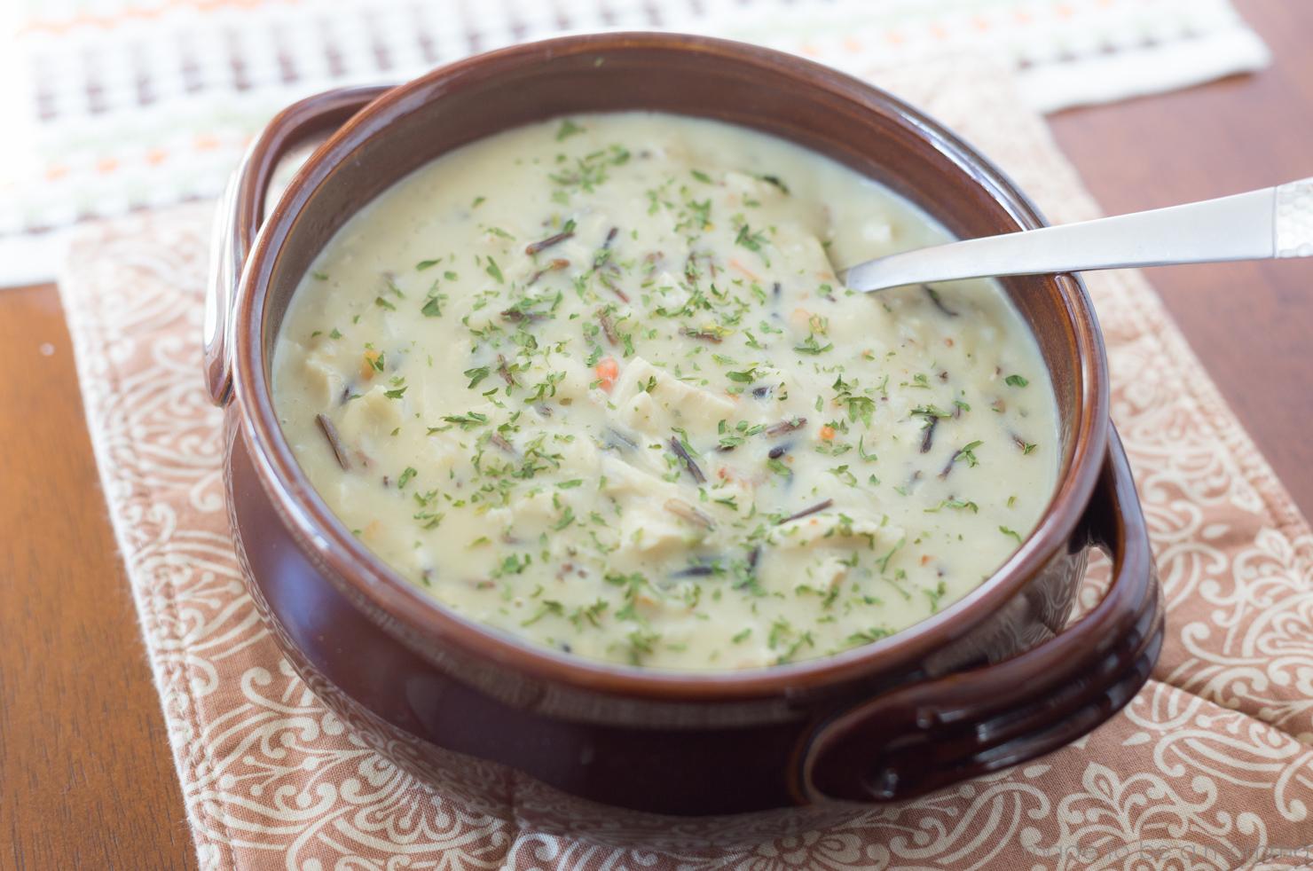 Creamy Wild Rice Soup-8