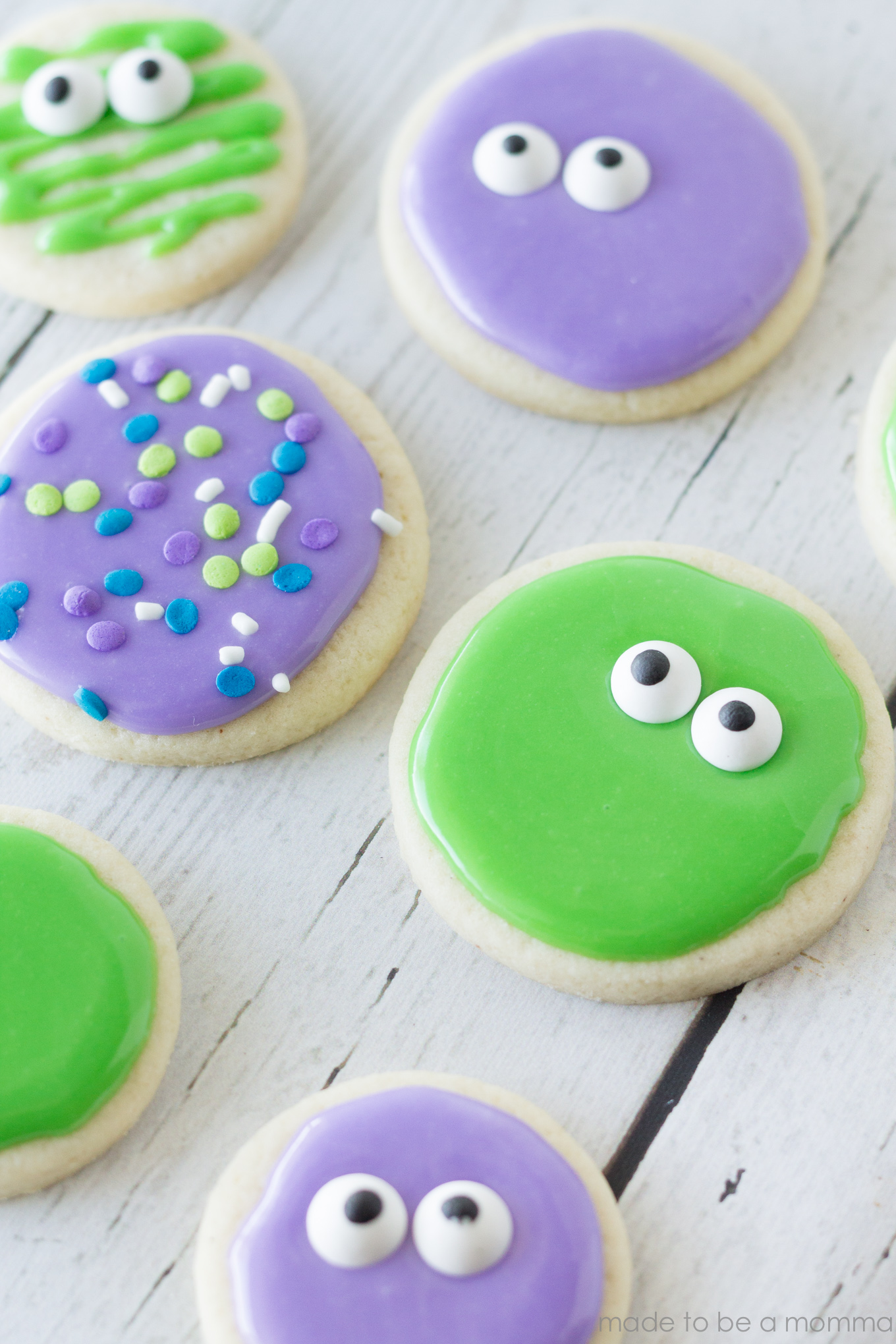 These Googly-Eyed Sugar Cookies are simple and great for any spooky celebration.