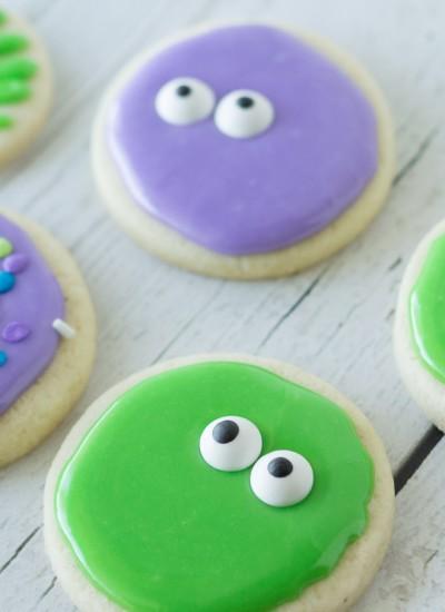 Googly-Eyed Sugar Cookies