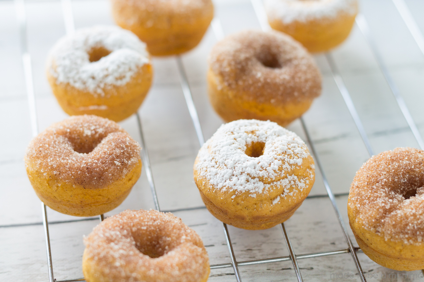 Pumpkin Mini Donuts-14