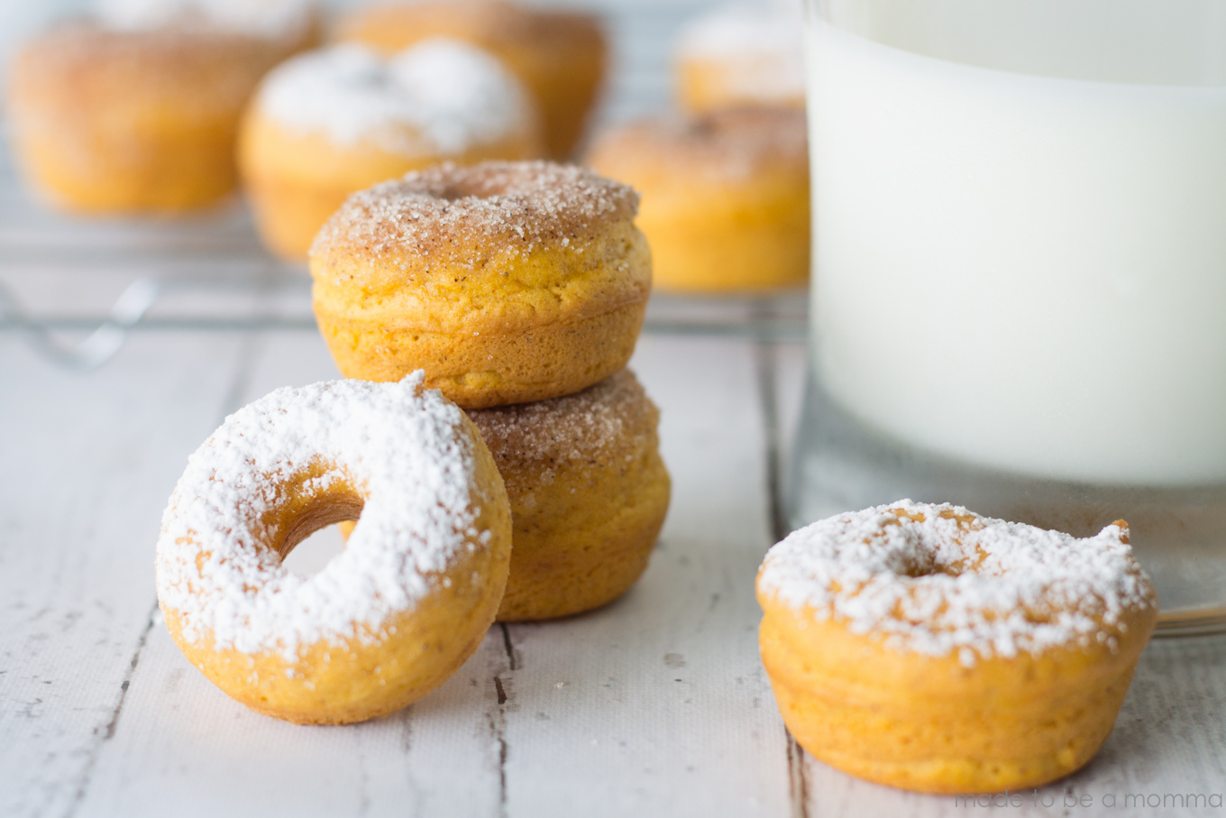 How To Make Pumpkin Donuts With Yellow Cake Mix