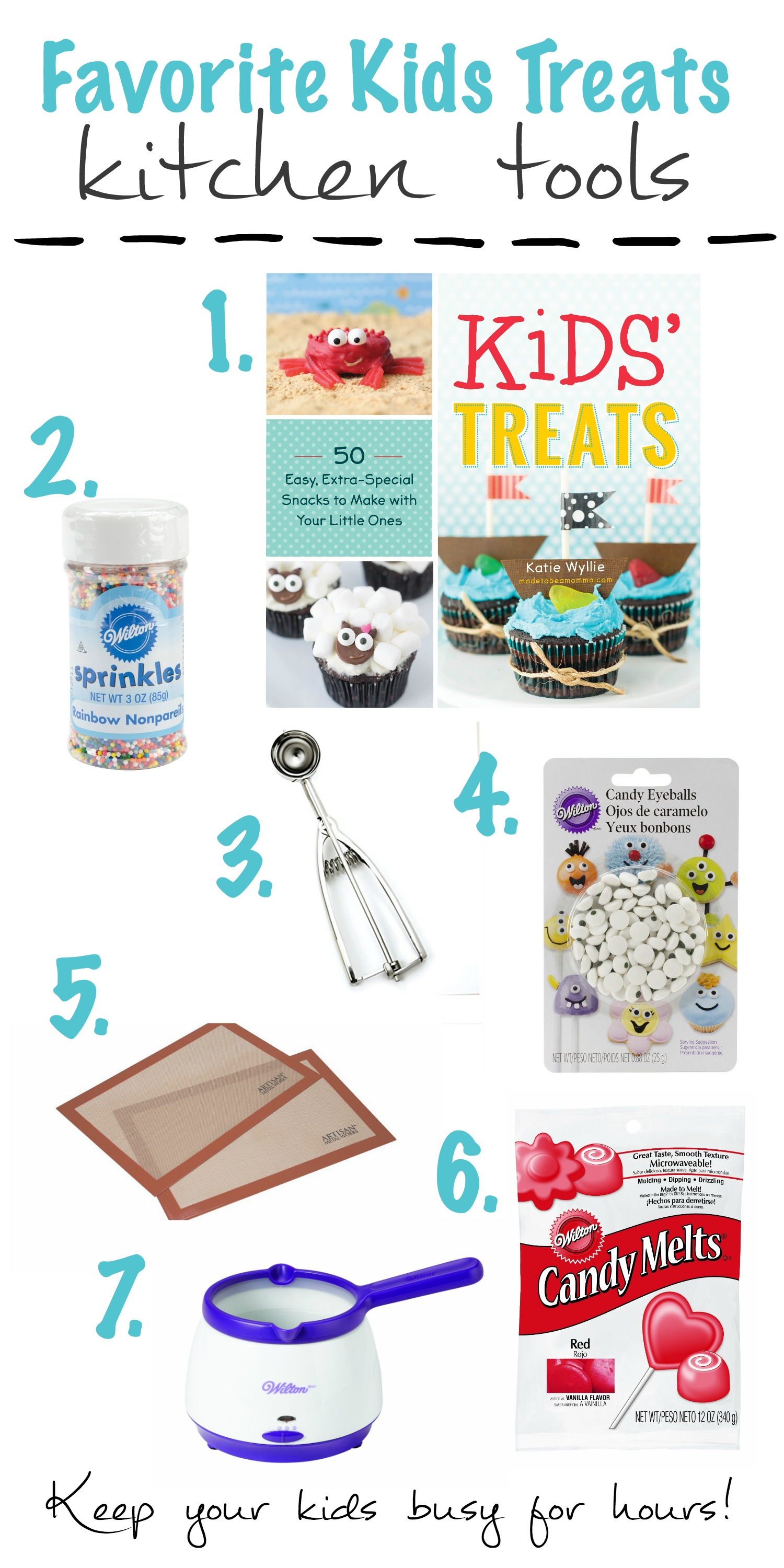 Favorite Kids Treats Kitchen Tools