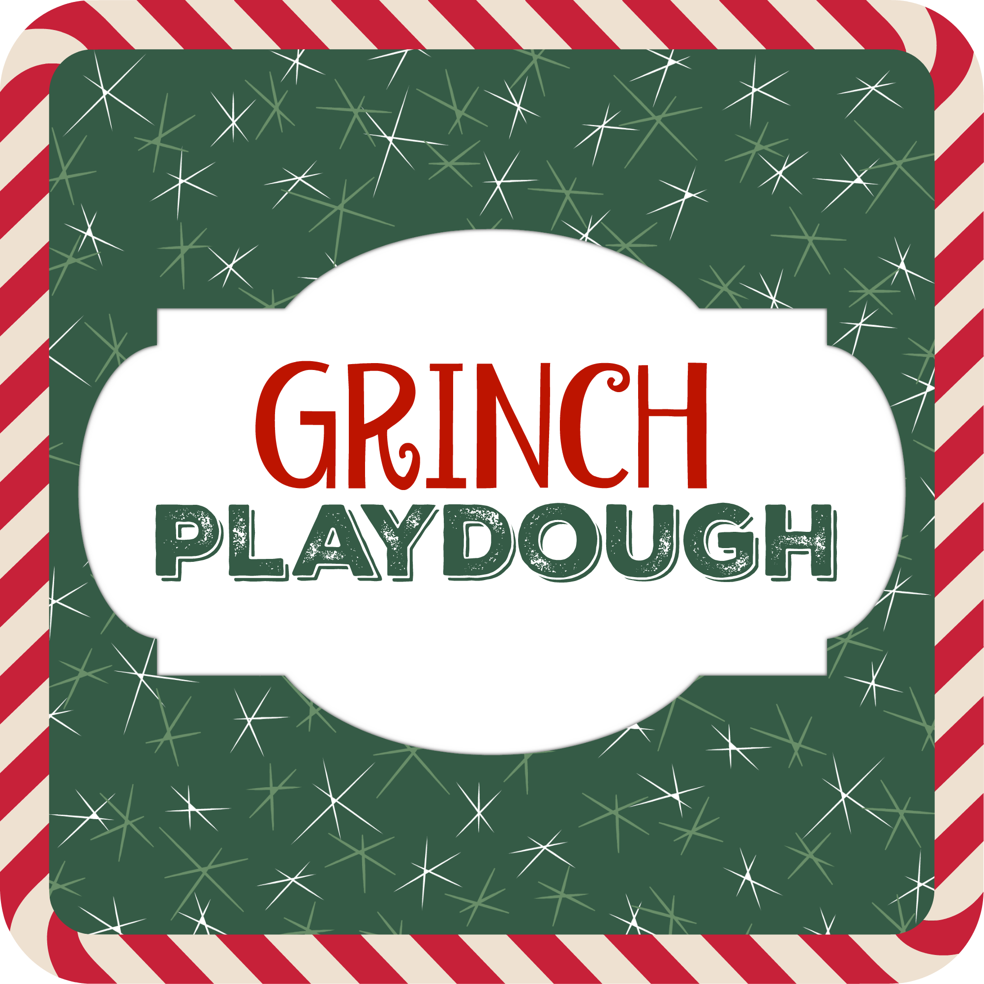 Grinch Playdough