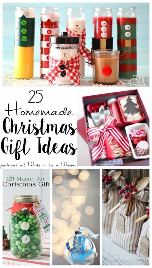 Best 28 25 Handmade Christmas Gifts 101 Inexpensive: 25 uni christmas gift ideas
