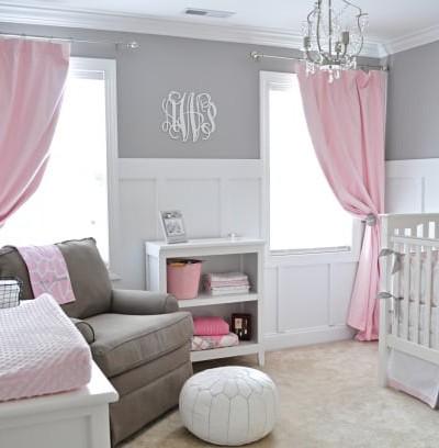 Baby Girl Nursery Ideas with Behr
