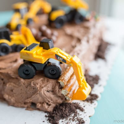 Construction Candy Cake