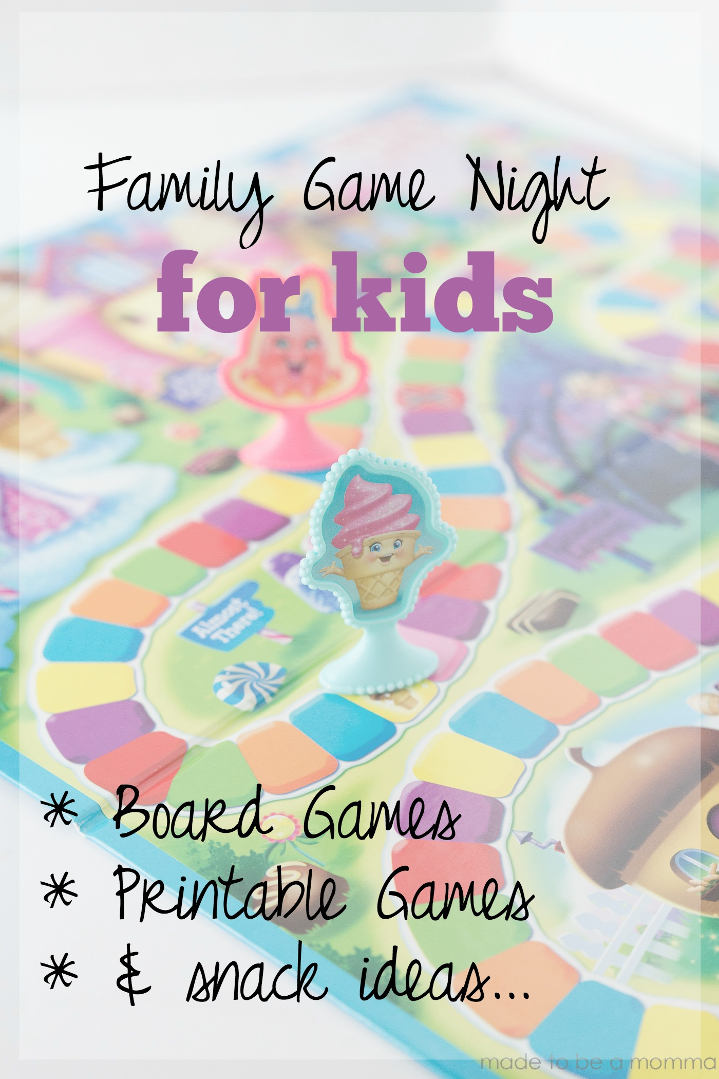 Family Game Night Ideas that are perfect for the kids!