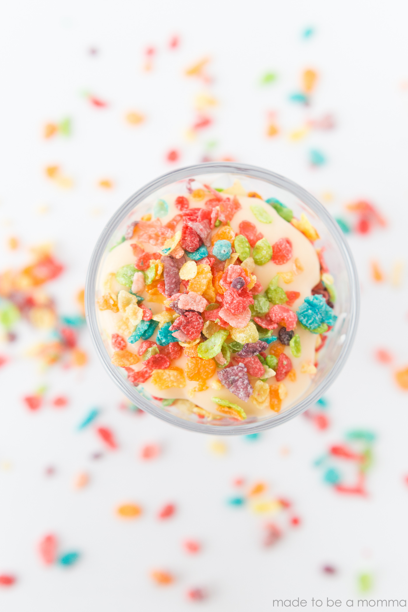 These Rainbow Parfaits are a colorful and yummy treat for the kids