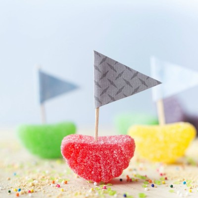 Fruit Slice Candy Boats