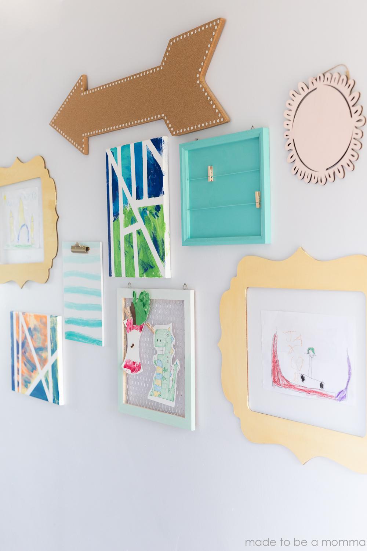 Kids Gallery Wall-25