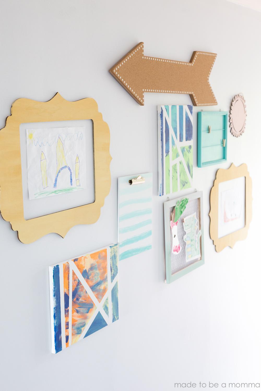 Kids Gallery Wall-34