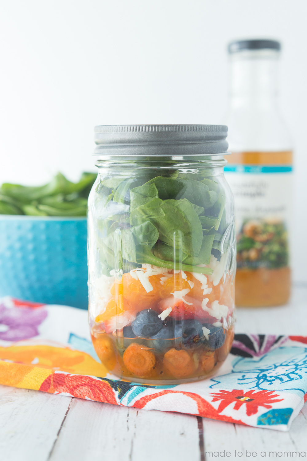 Mason Jar Sweet Citrus Salad a fun and inexpensive way to package a delicious salad  sc 1 st  Made To Be A Momma & Mason Jar Sweet Citrus Salad - Made To Be A Momma