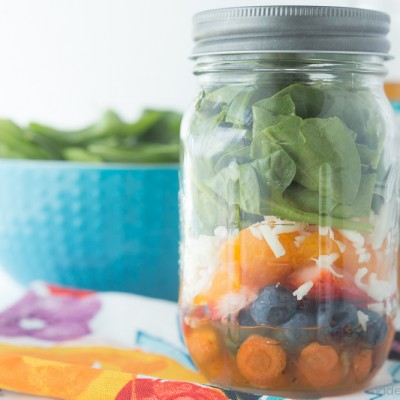 Mason Jar Sweet Citrus Salad