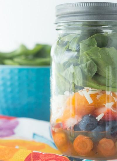 Mason Jar Sweet Citrus Salad