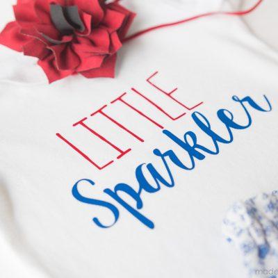 Little Sparkler Onesie & GIVEAWAY!