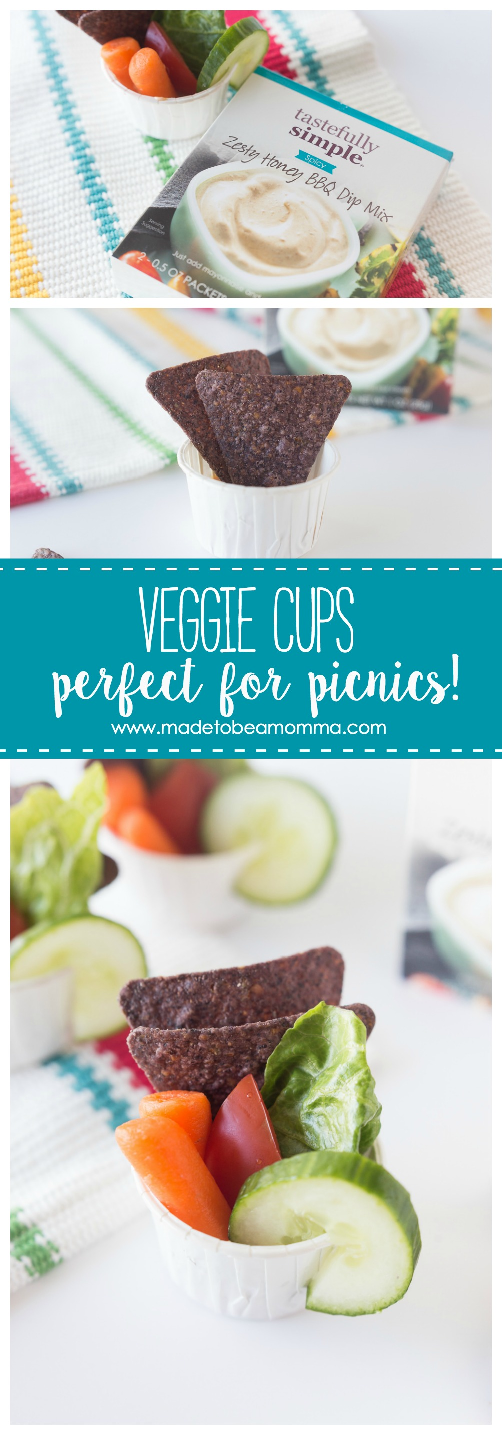 Veggie Cups Made to be a Momma