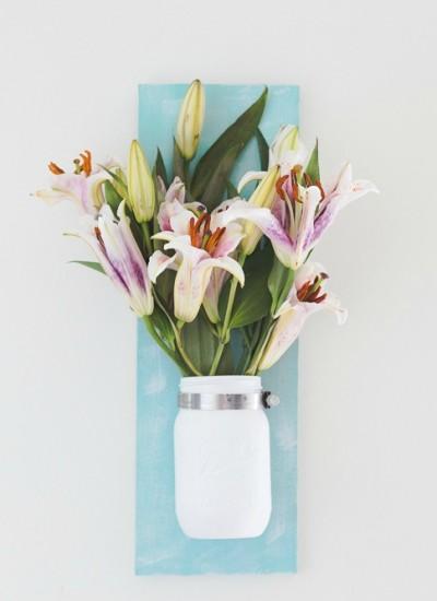 Diy Mason Jar Flower Vase