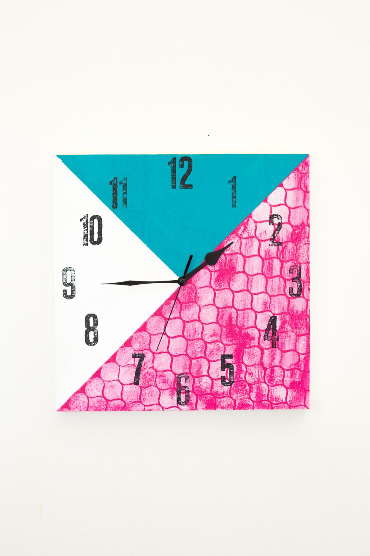 Diy Clock-12