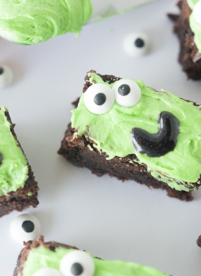 Silly Face Brownies
