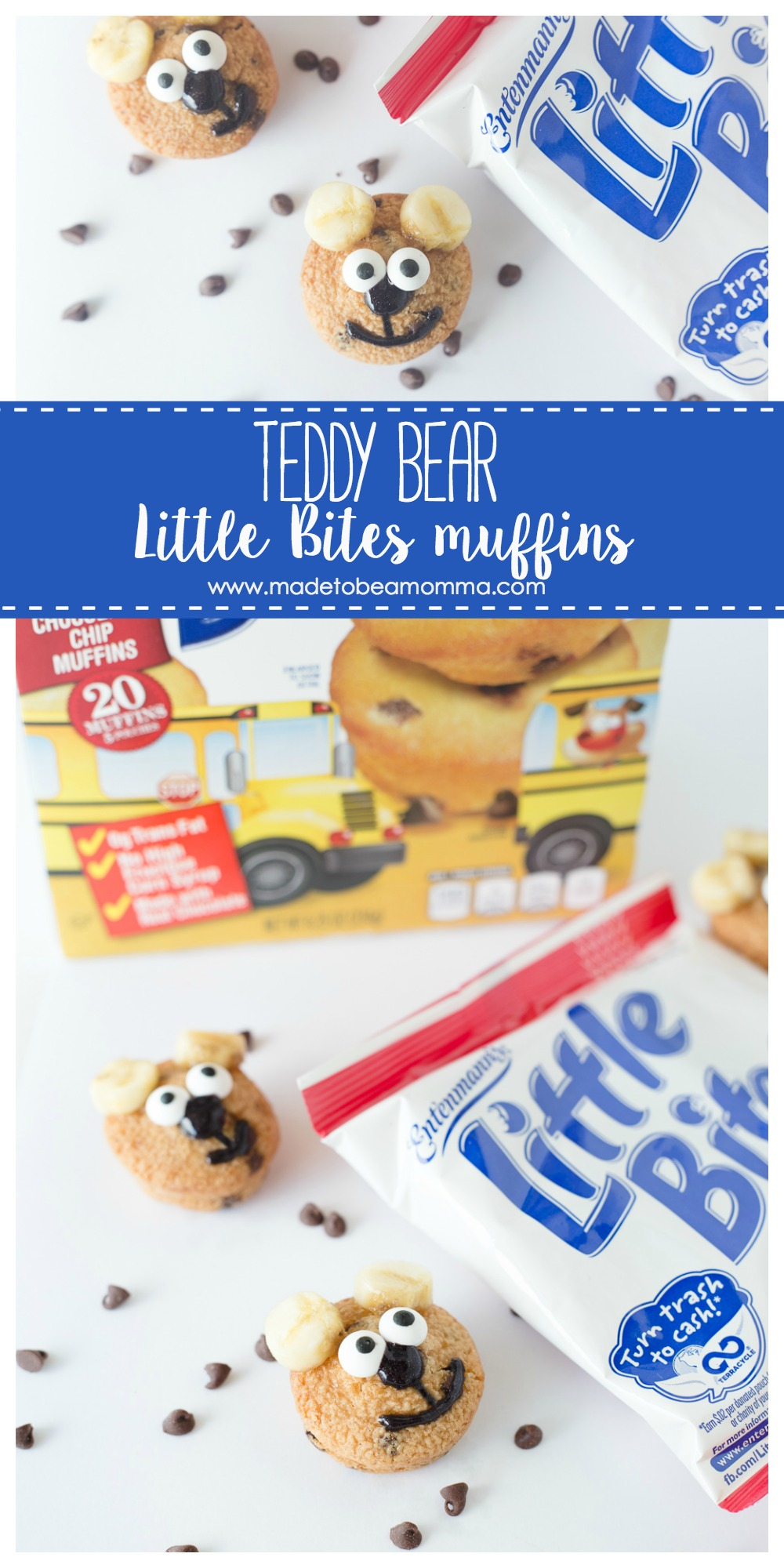 Teddy Bear Little Bites Muffins