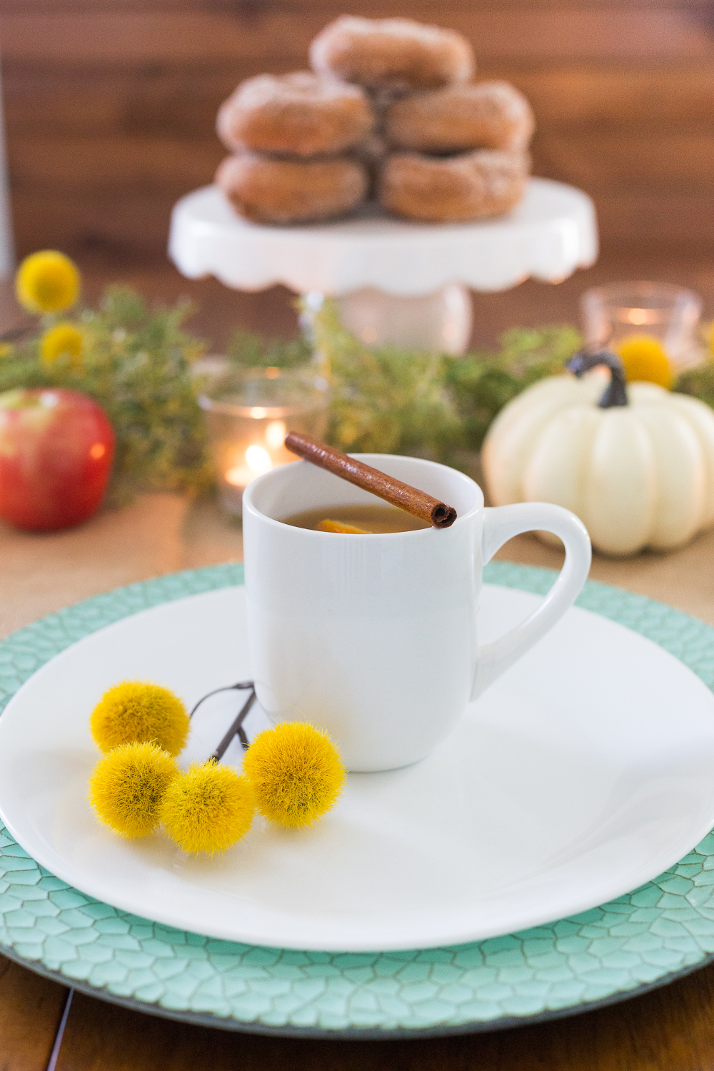 Slow Cooker Mulled Apple Cider | Hot Apple Cider | Hot Beverage | Fall Drink