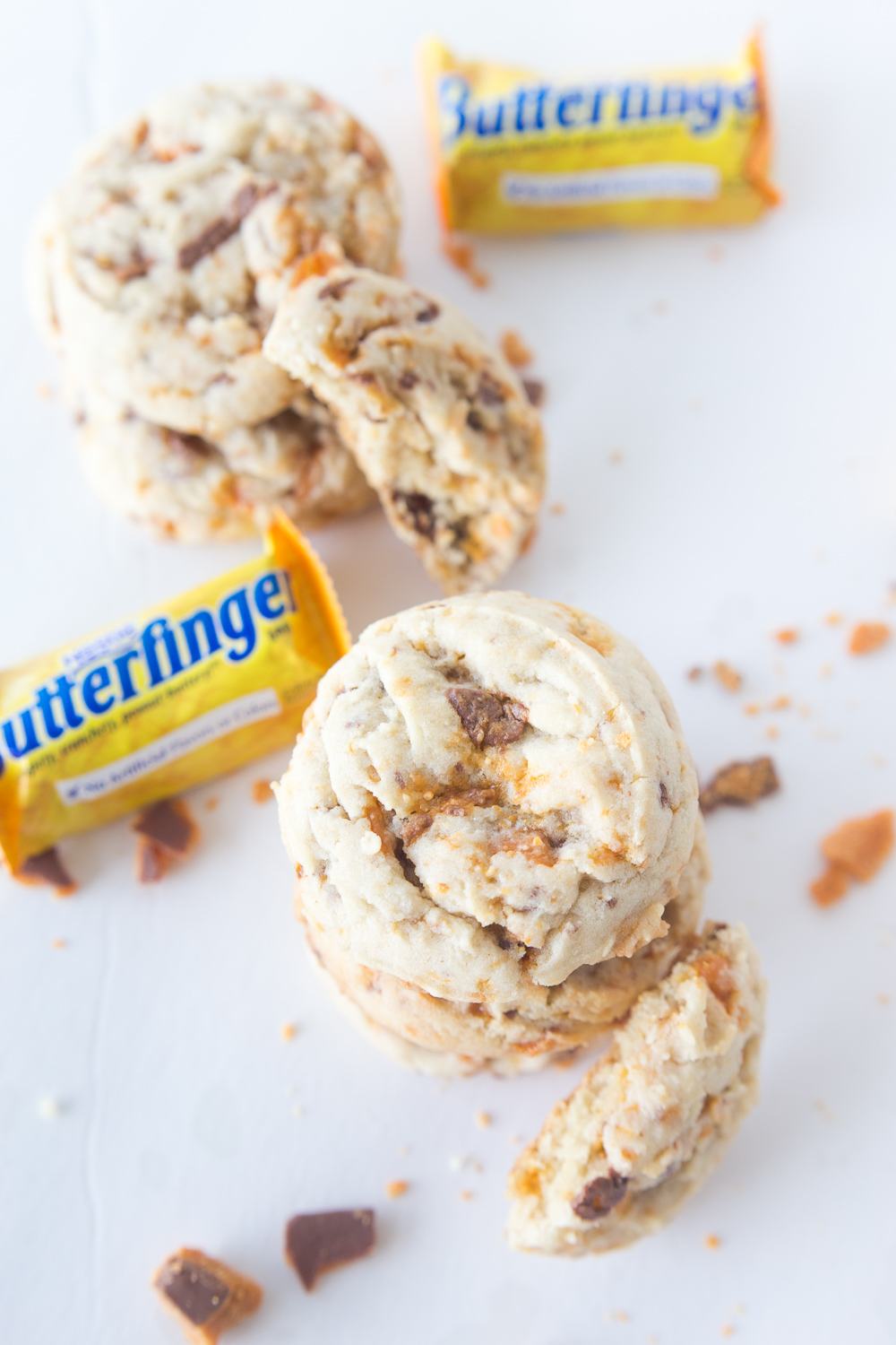 Butterfinger Cookies & Halloween Basket Ideas - Made To Be A Momma