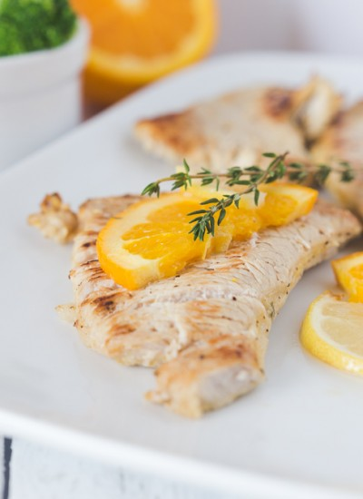 Orange & Thyme Turkey Breast Cutlets