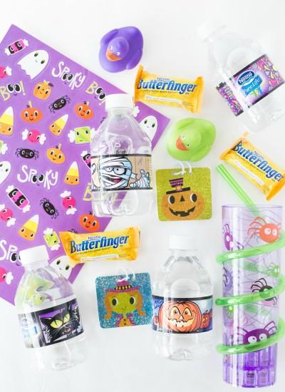 Butterfinger Cookies & Halloween Basket Ideas