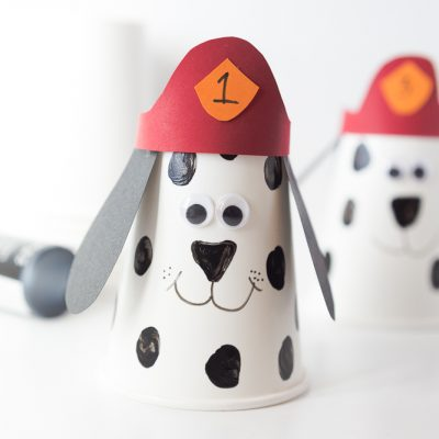 Firefighter Dalmatian Kids Craft