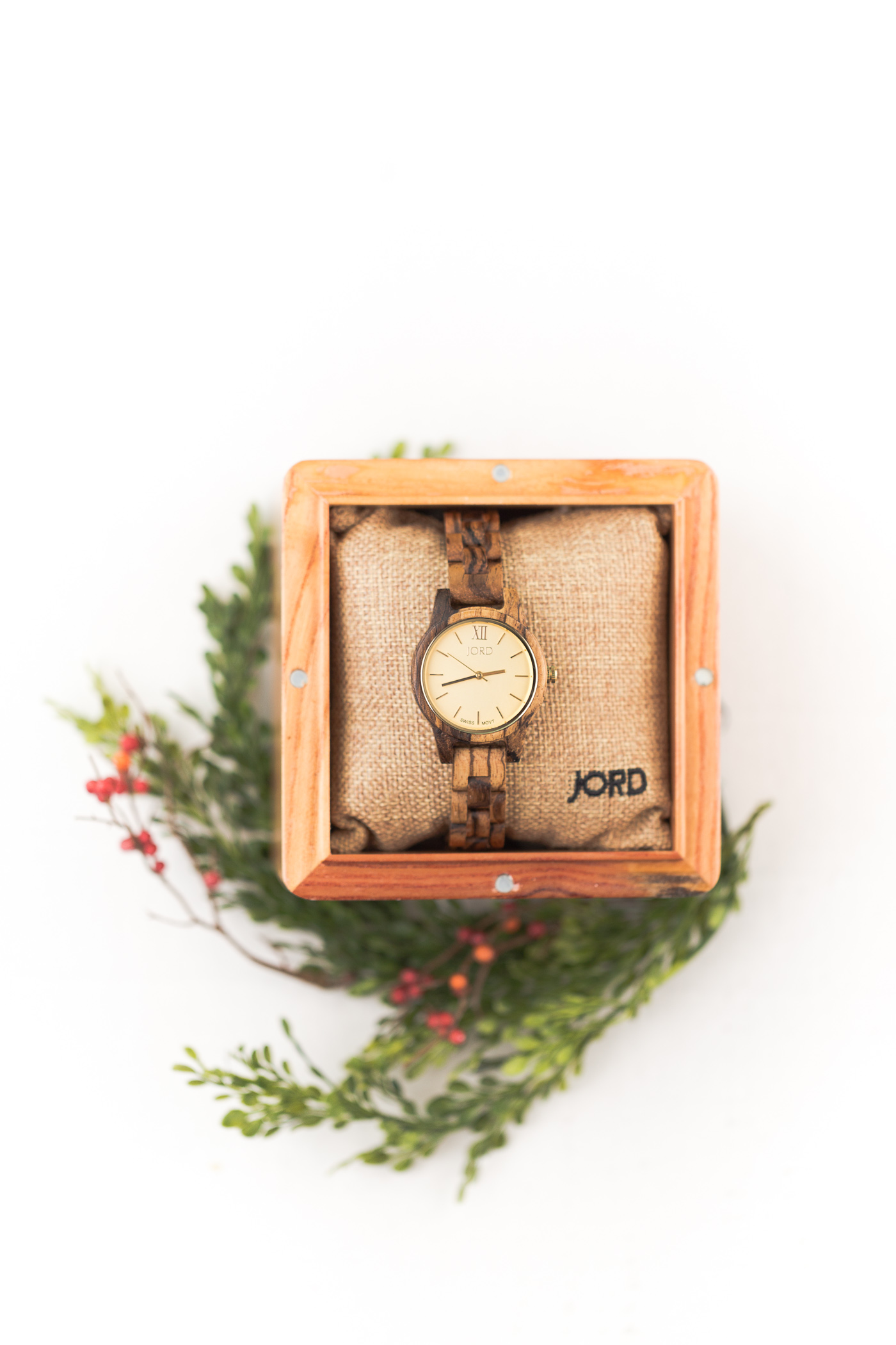 Holiday Gift Guide-Pretty Accessories: earrings, women's watch and nail polish are just a few of my favorite accessories that the ladies in your life are bound to en