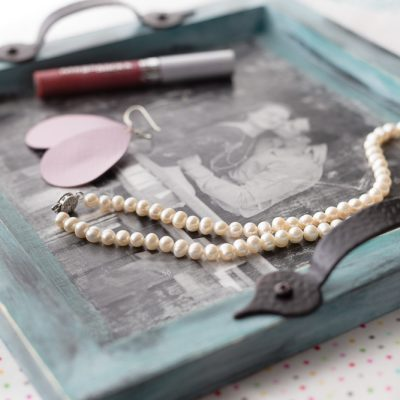 Photo Transfer Jewelry Tray