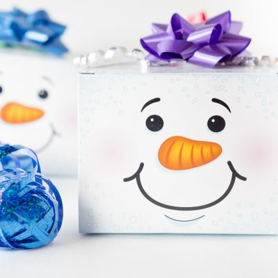 Snowman Craft Box