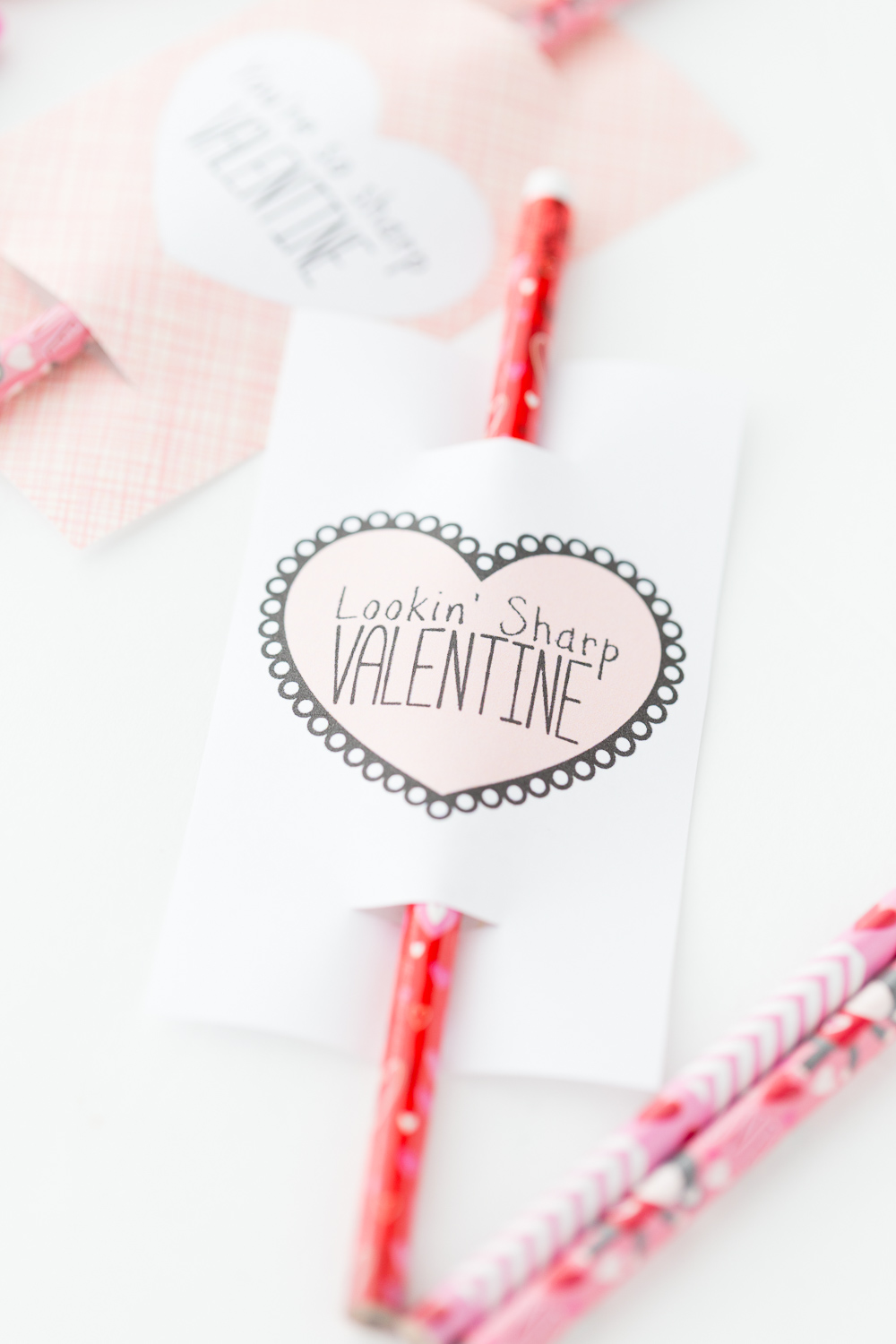photo about Pencil Valentine Printable titled Pencil Valentine: Absolutely free Printable - Designed In direction of Be A Momma