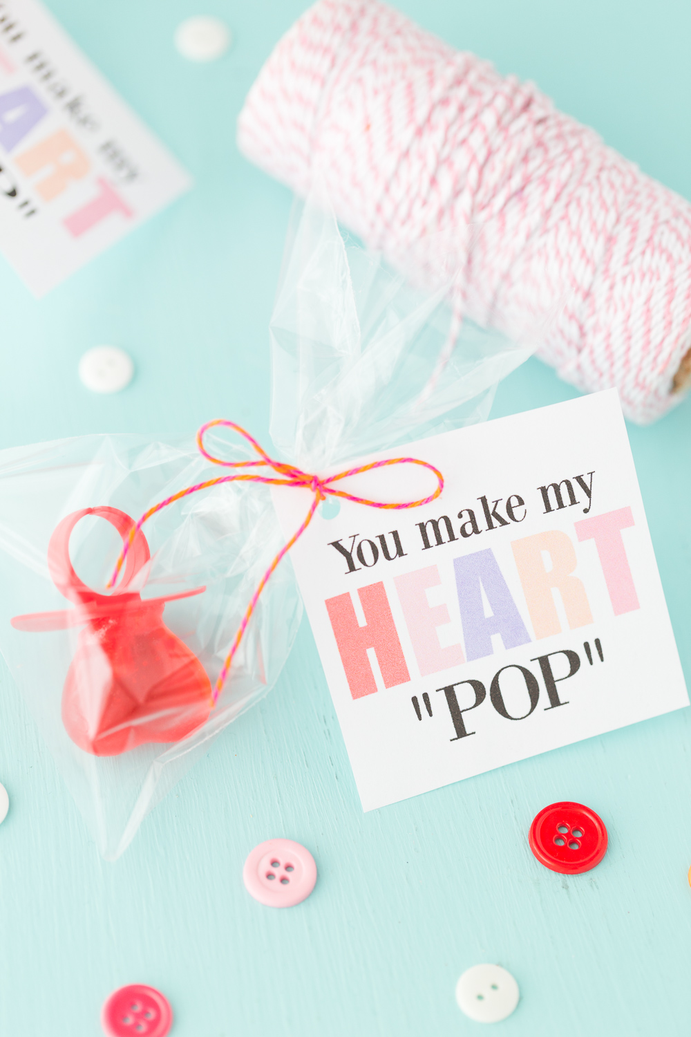 photograph about You Make My Heart Pop Valentine Printable named Ring Pop Valentine - Built In direction of Be A Momma