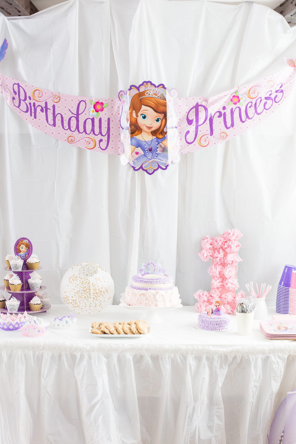 Strange Sofia The First Birthday Party Made To Be A Momma Funny Birthday Cards Online Overcheapnameinfo