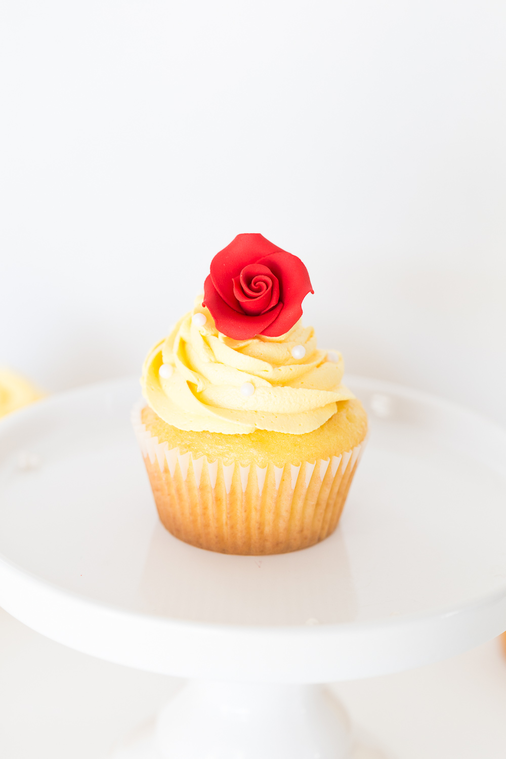 Belle Cupcakes | Beauty and the Beast | Beauty and the Beast Treats | Cupcakes | Disney Treats | Princess Party