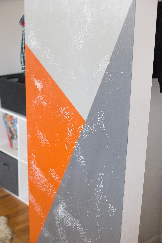 geometric wall paintDiy Painted Geometric Wall  Made To Be A Momma
