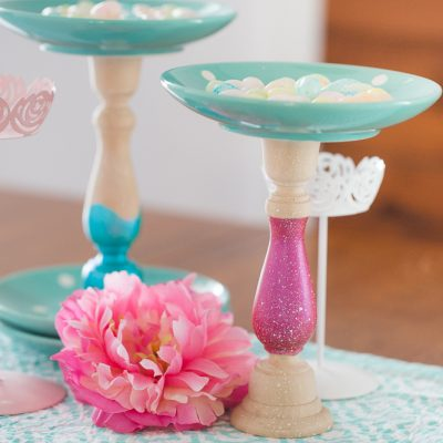 Candlestick Candy Holders