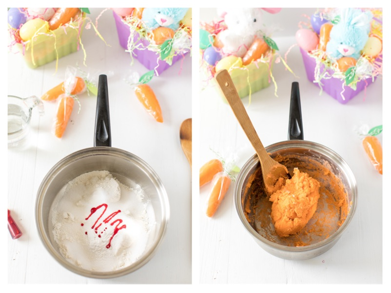 How to make Easter Carrot Playdough