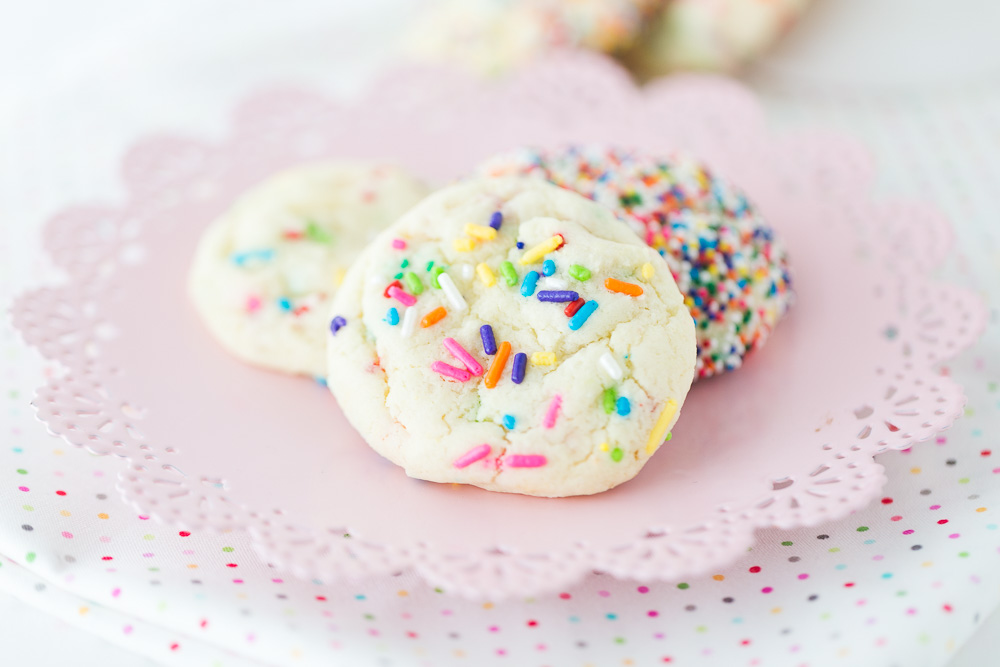 Funfetti Cake Mix Cookies Made To Be A Momma