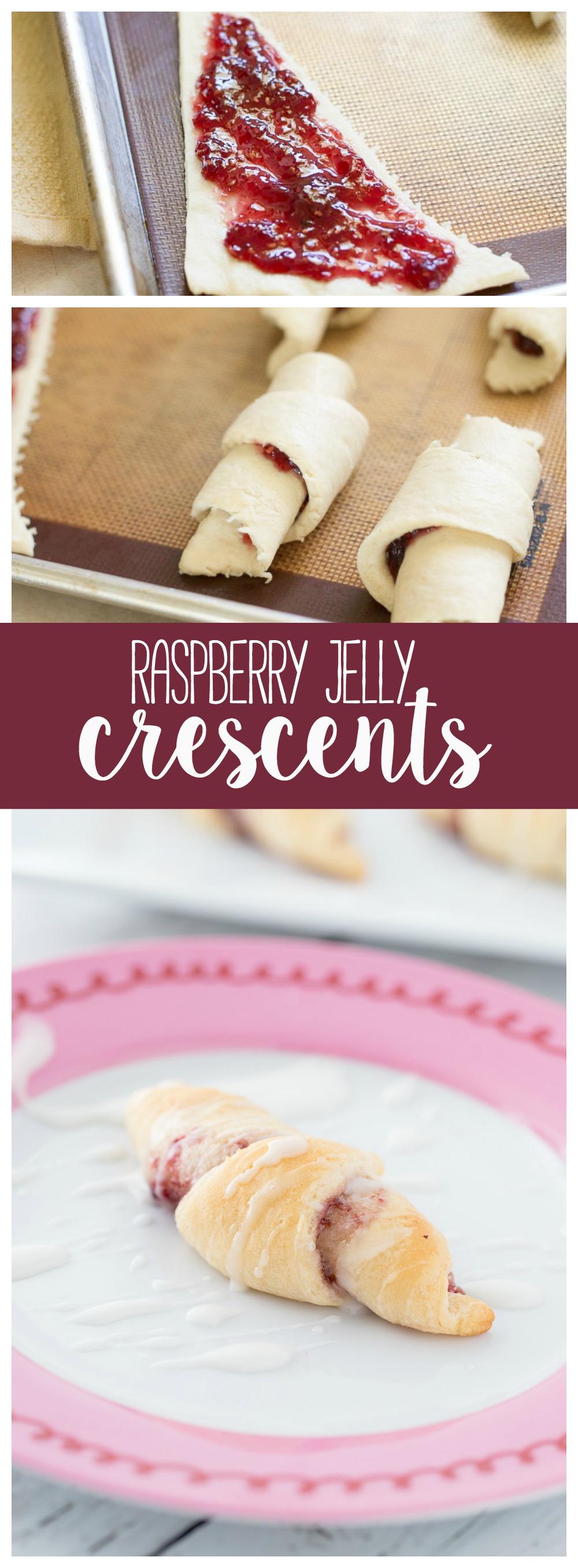 Raspberry Crescent Rolls | Crescent Rolls | Dessert | Simple Desserts