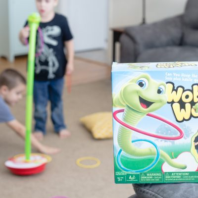 Wobbly Worm: a fun active game for kids!
