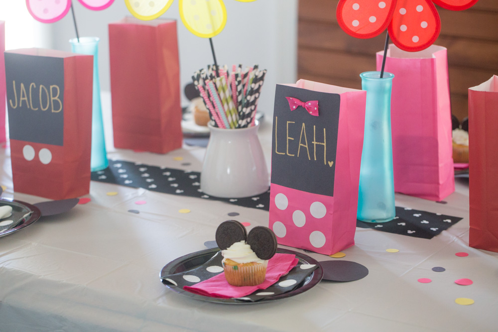 This Mickey and Minnie Playdate Party is filled with goodies, sweet treats and more!  Bring the classic Disney characters to your party!
