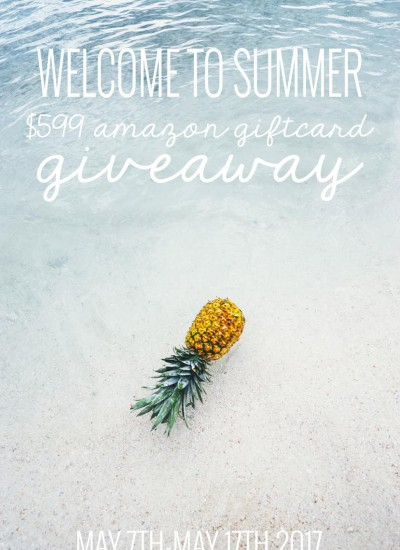 Welcome To Summer Giveaway!