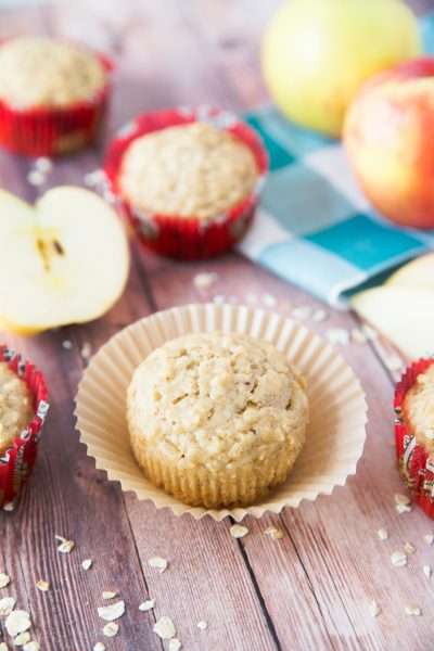Apple & Oatmeal Muffins